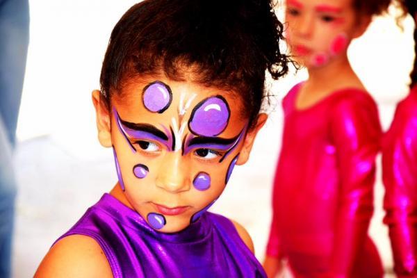 Maquilage violet