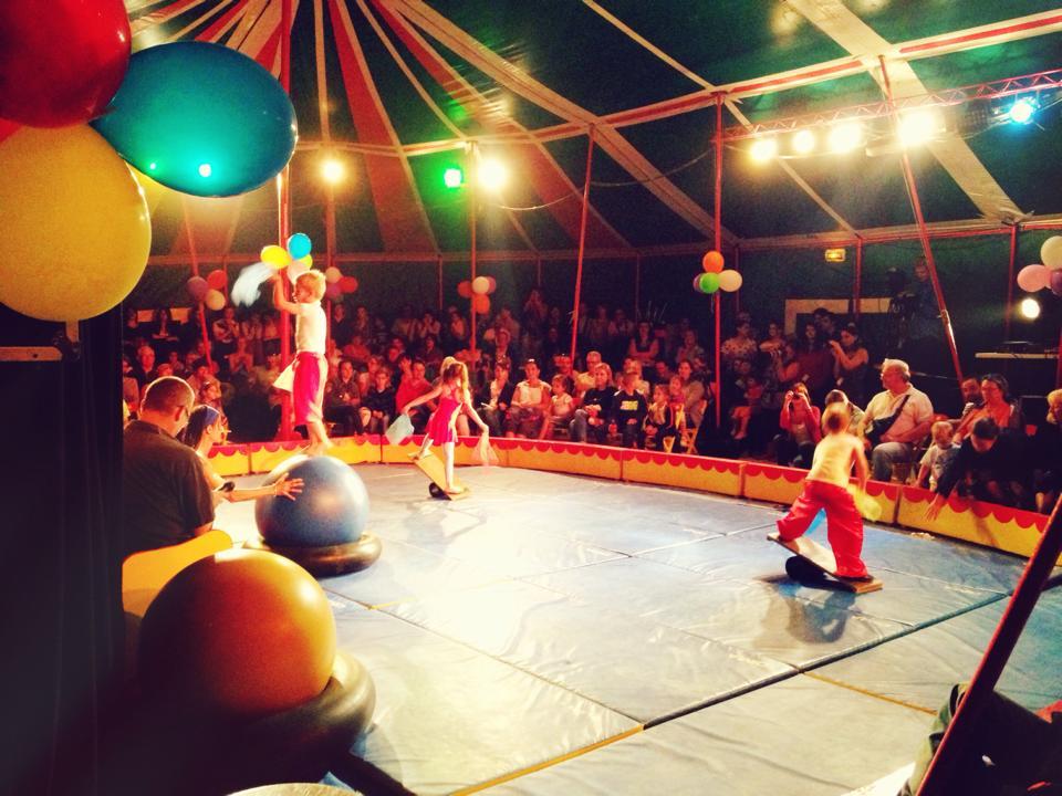 Spectacle de l'école de cirque 2013
